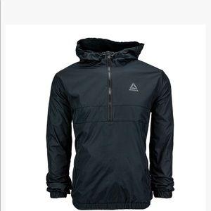 NWT Men's Reebok 1/2 ZIP Pullover Jacket